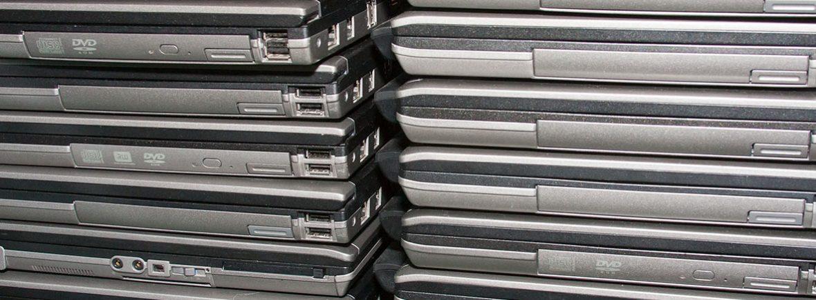 Laptops at Ability Built.