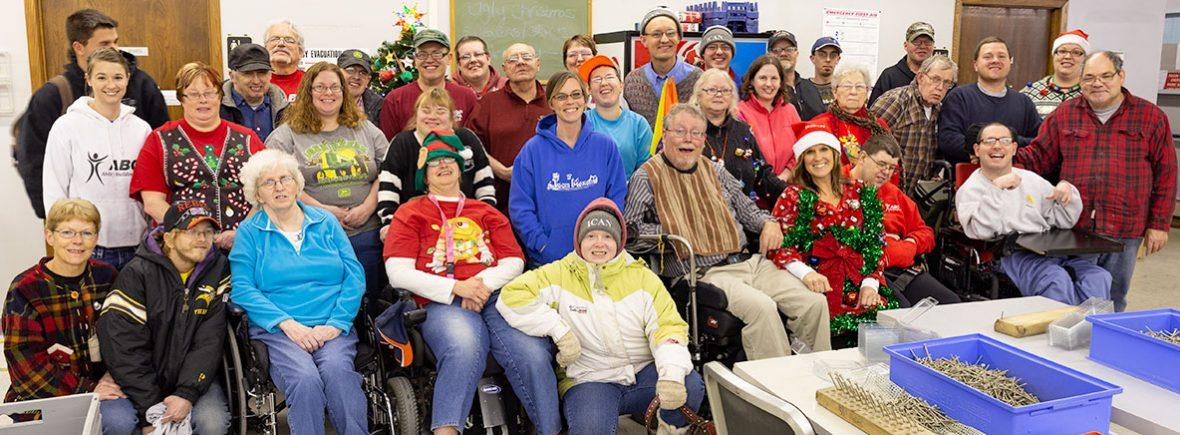 Woodland group photo.